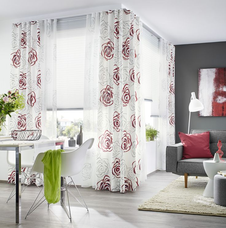 7 best @Home images on Pinterest Sheet curtains, Blinds and - vorhänge für küchenfenster
