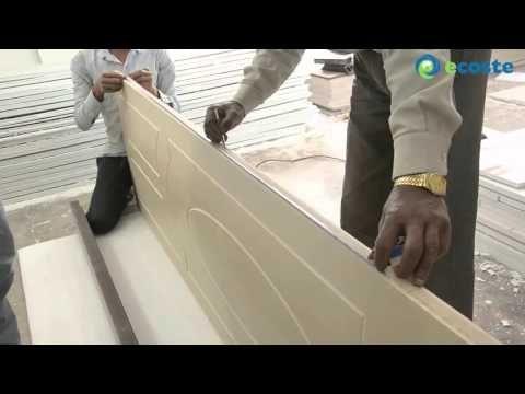 Ecoste Door Frame Installation. - YouTube