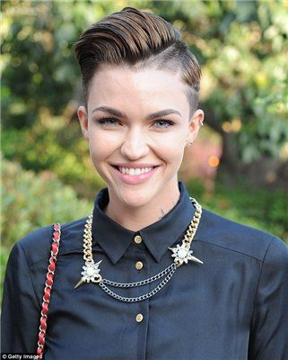 Best Ruby Rose Images On Pinterest Ruby Rose Short Hairstyle - Undercut hairstyle ruby rose