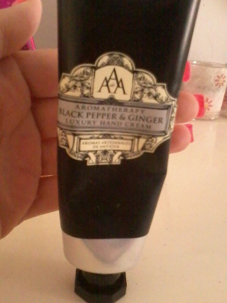 AAA black pepper & ginger hand cream (review)