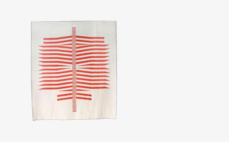 M. Callahan Printed Quilt