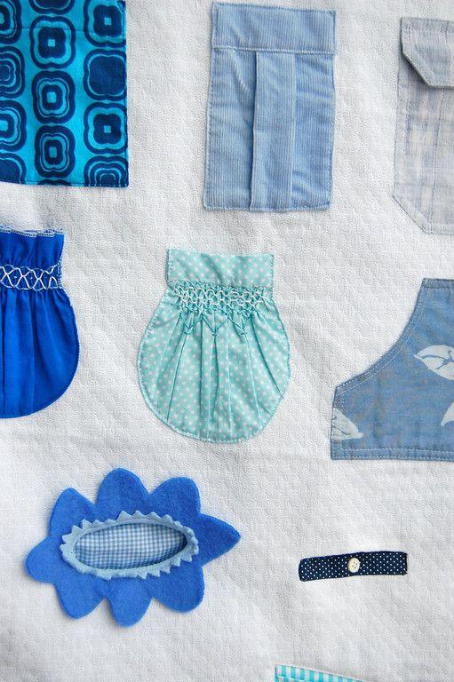 How to make 26 kinds of pockets.