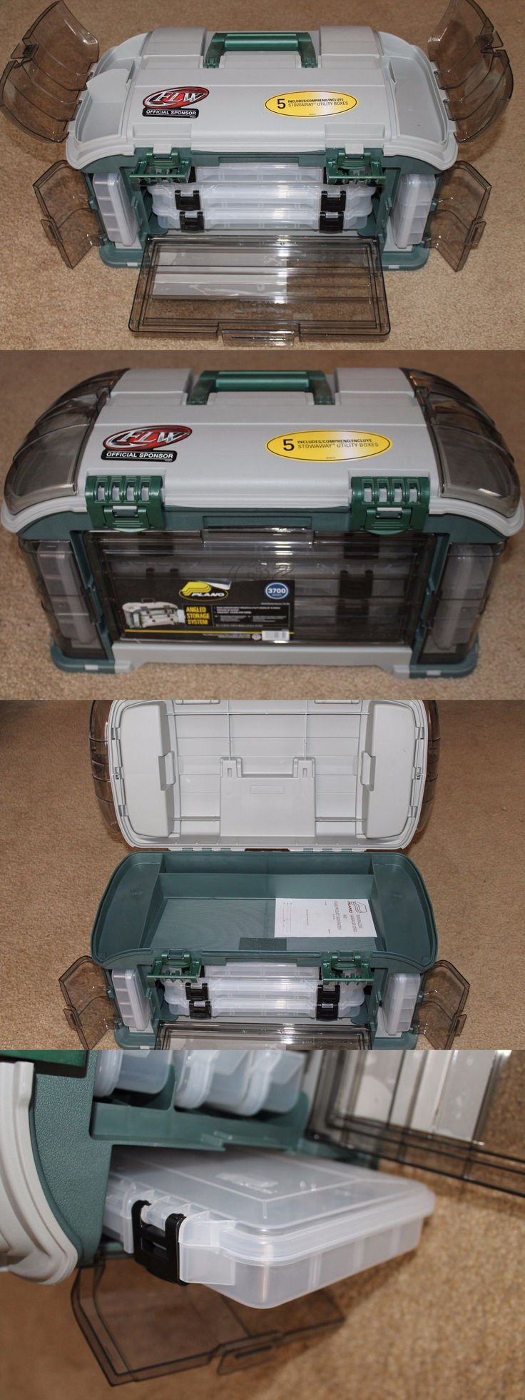 Tackle Boxes and Bags 22696: New Larger Version Plano 732 Angled Fishing Tackle Box, 5 Stowaway Boxes Storage -> BUY IT NOW ONLY: $53.99 on eBay!