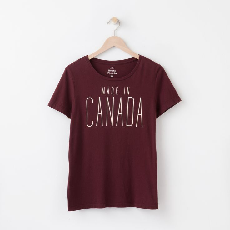Made In Canada T-shirt | Roots T Shirts