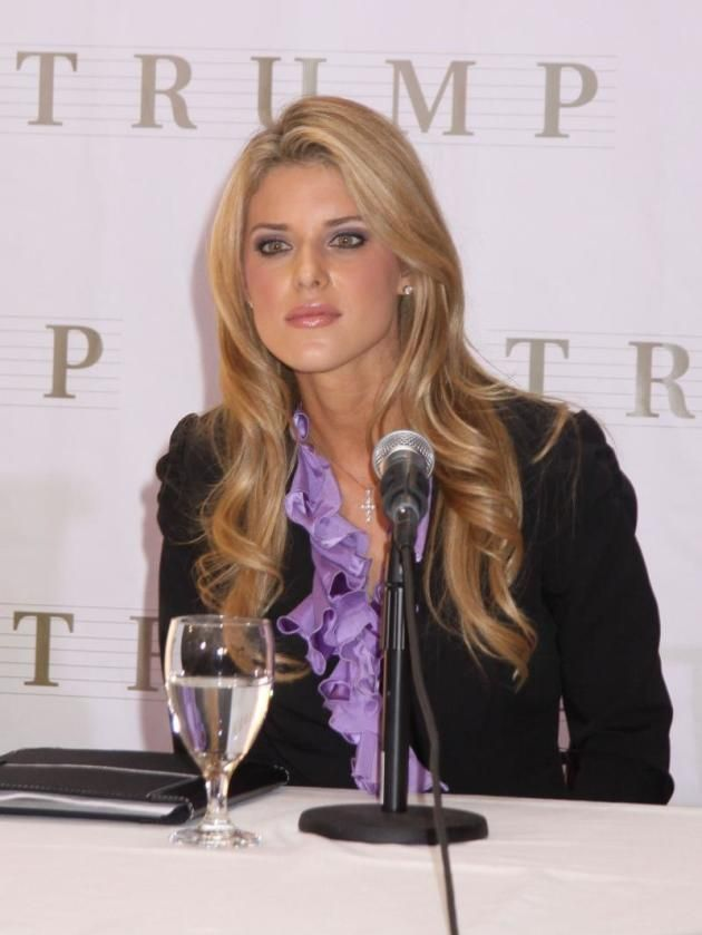 Carrie Prejean is seen here at the press conference that enabled her to keep her crown. A few weeks later, of course, Donald Trump fired the beauty queen. #miss #usa Kristen Dalton: Carrie Prejean is Great For Publicity