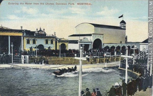 «Shoot-the-Chutes», Parc Dominion
