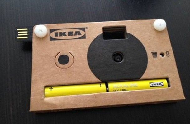 Cardboard Digital Camera by IKEA