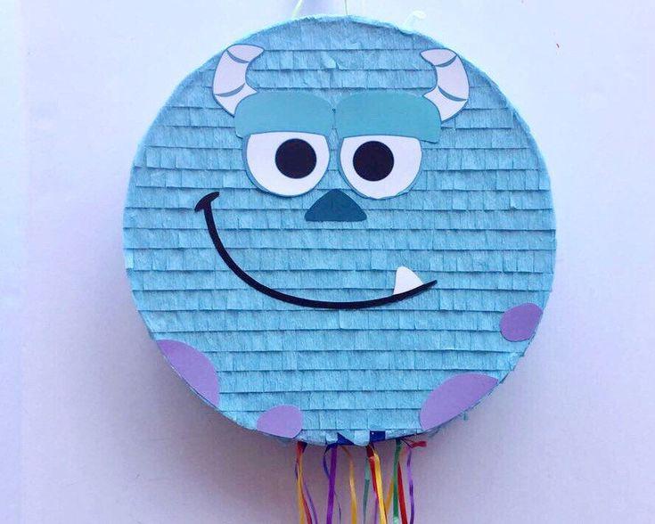 Fiesta de cumpleaños de MONSTERS INC PIÑATA, Sully monstruos Inc, piñata Sully, favor, tire de pinata de cadena de TRUSTITI en Etsy https://www.etsy.com/es/listing/521367129/fiesta-de-cumpleanos-de-monsters-inc