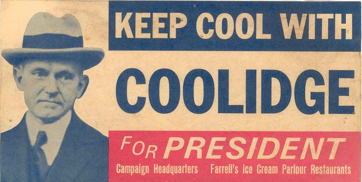 Coolidge Campaign Poster