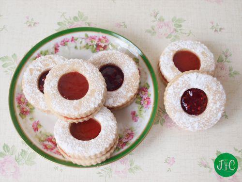 Jaleo en la Cocina: Galletas con mermelada, un acompañamiento dulce perfecto