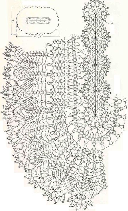 Oval Crochet Tablecloth Diagrams Trusted Wiring Diagrams