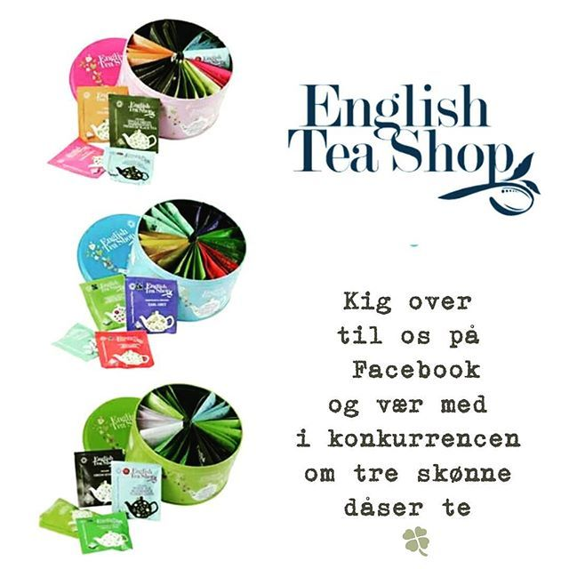 English Tea Shop = skøn te, som er ØKOLOGISK og dyrket efter sunde principper. Den skønne te kommer i små teposer med større masker, og på den måde får den en fyldigere smag. English Tea Shop er en mester I at lave skønne indbydende te æsker med et bredt udvalg fra sortimentet. Gode til gaver og skønne at sætte på bordet, når du får gæster eller blot vil forkæle dig selv med en skøn kop te <3