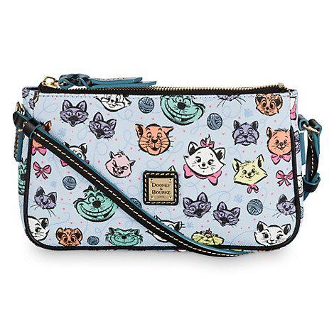 Your WDW Store - Disney Dooney & Bourke Bag - Disney Cats Leather Pouchette