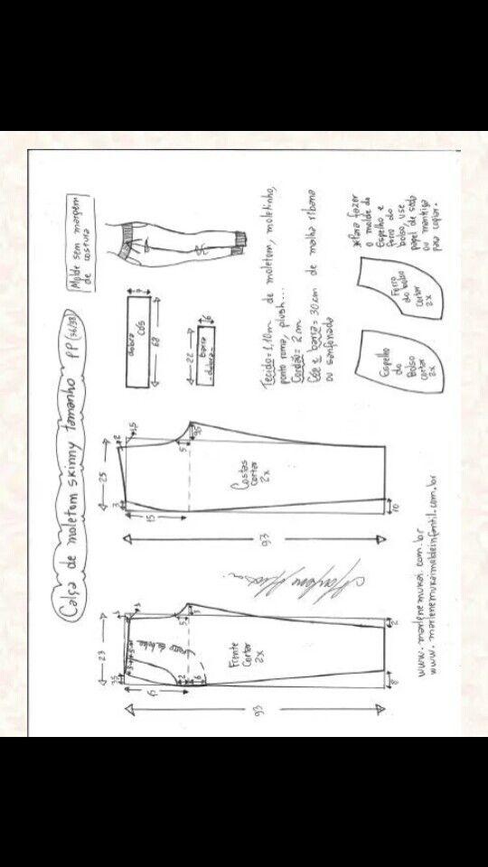 Pin de Liliana Romulo en Costura | Pinterest | Molde, Patrones y Costura