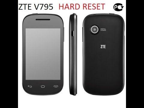 Как сделать hard reset на ZTE V795 сброс настроек через рекавери