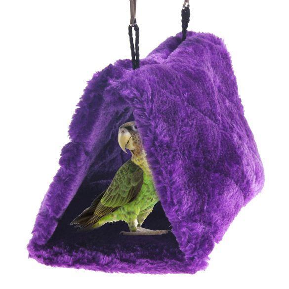 Nueva llegada nido de pájaro del loro shed hamaca mullido caliente dormitorio pet suspendido hut bs