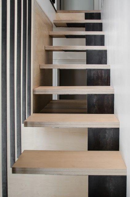 The 25 best ideas about escalier bois metal on pinterest - Escalier interieur castorama ...