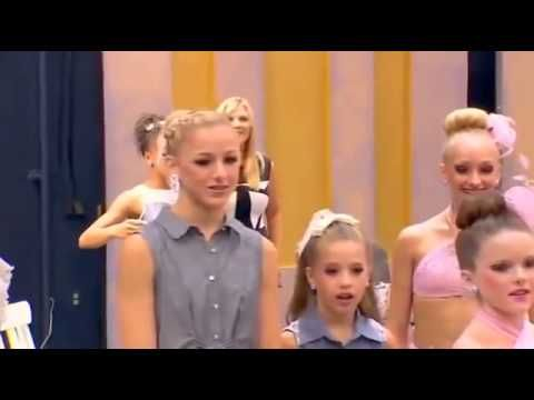 Maddie dances whenever she hears the chandelier song - dance moms - YouTube