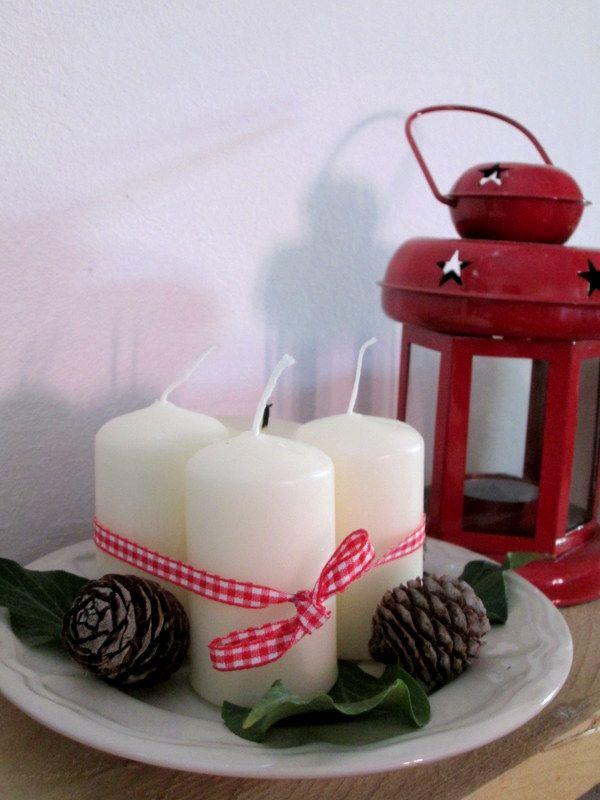 Adventi gyertyák // Advent candles