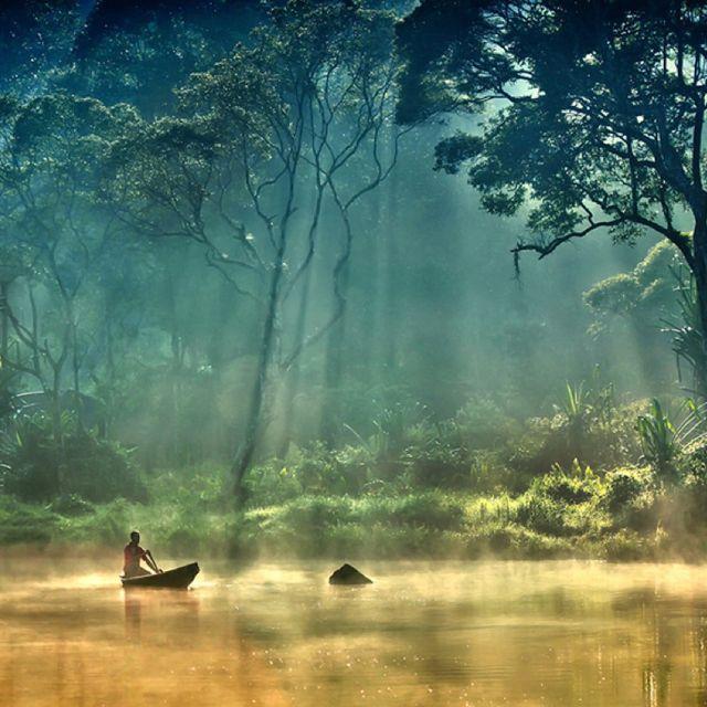 Situ Gunung Natural Park, Sukabumi, Indonesia.