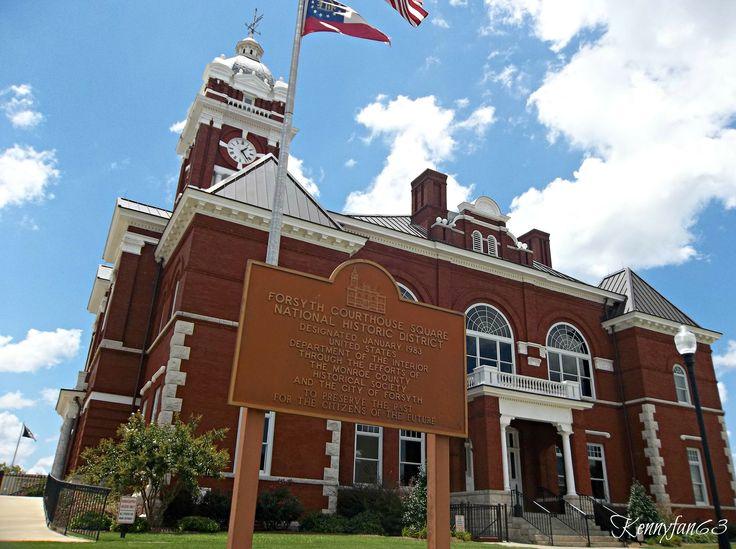Forsyth Georgia / Monroe County Courthouse