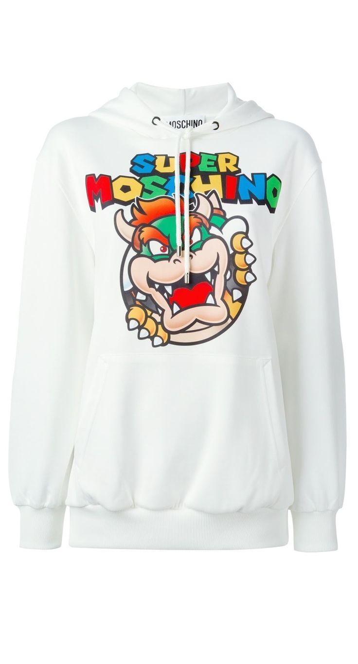 Moschino Super Mario Bowser Hoodie