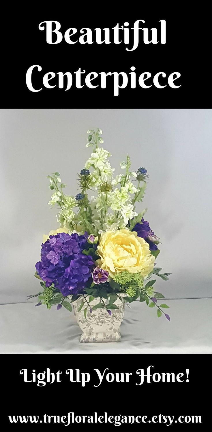 12 Best Silk Flowers Centerpiece Images On Pinterest Silk Flowers