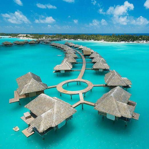 Four seasons Bora Bora.
