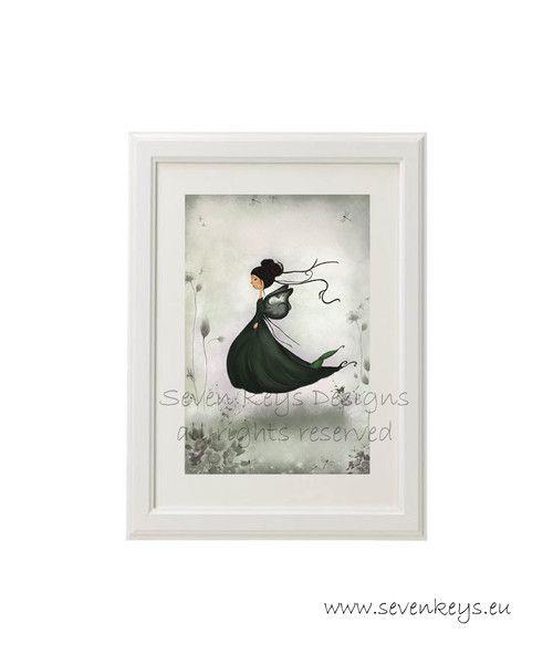 """""""Little+butterfly""""+druck+von+kissthefrog+auf+DaWanda.com"""