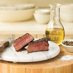 Cast Iron Skillet Seared Filet MignonOlive Oil, Cast Iron Skillets, Myrecipes Com, Maine Dishes, Beef Tenderloins Recipe, Mignon Recipe, Skillets Recipe, Pan Seared Filet, Filet Mignon