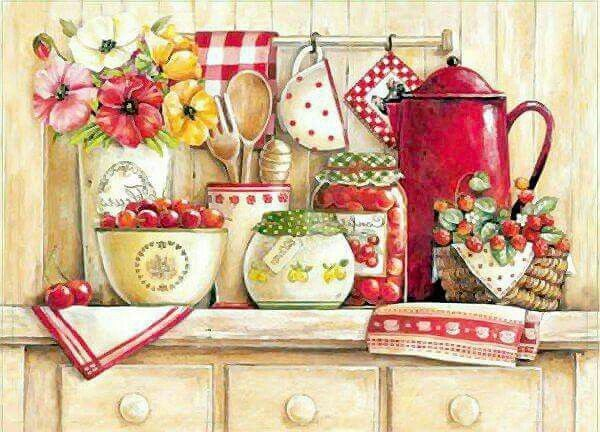 Cute Stitch On Side Wallpaper 1446 Best Kitchen Decoupage Images On Pinterest Etchings