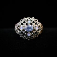 Kyanite & Opal Ring