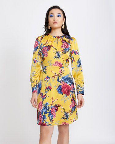 cdfd271d016db Savida Oriental Print Dress | Dunnes Stores