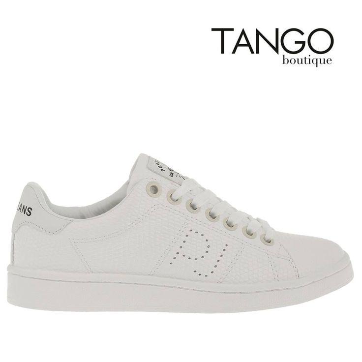 Sneaker Pepe Jeans Κωδικός Προϊόντος: PLS30524 WHITE  Για την τιμή και τα διαθέσιμα νούμερα πατήστε εδώ -> http://www.tangoboutique.gr/.../sneaker-pepe-jeans...  Δωρεάν αποστολή - αντικαταβολή & αλλαγή!! Τηλ. παραγγελίες 2161005000