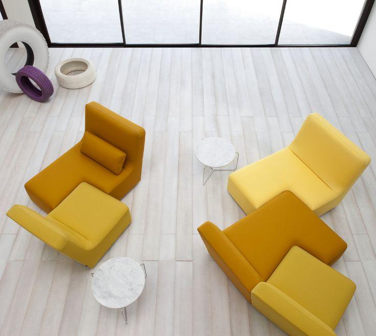 Confluences, Sofas Designer : Philippe Nigro | Ligne Roset