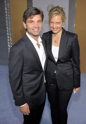 Alexandra Wentworth and husband George Stephanopoulos at event of Sex and the City 2 (2010)