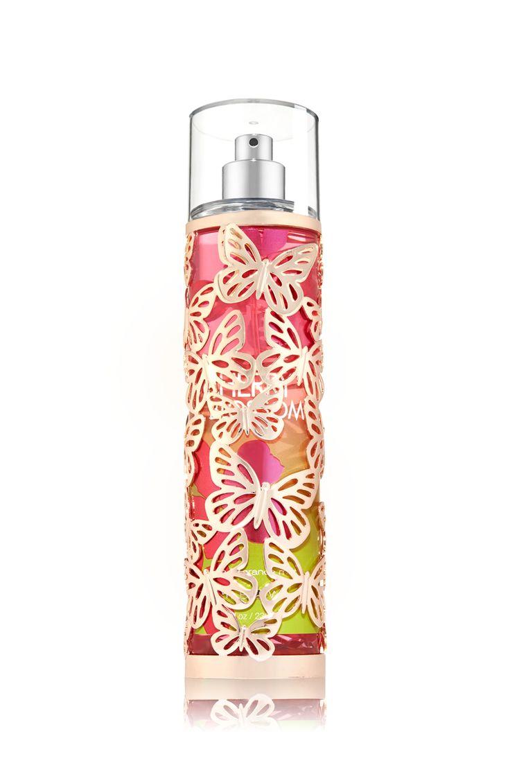 Gold Butterfly Fine Fragrance Mist Sleeve - Bath & Body Works   - Bath & Body Works
