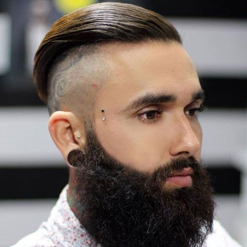 25 Cool Shaved Sides Hairstyles For Men 2020 Guide Beard Styles For Men Beard Styles Hair And Beard Styles