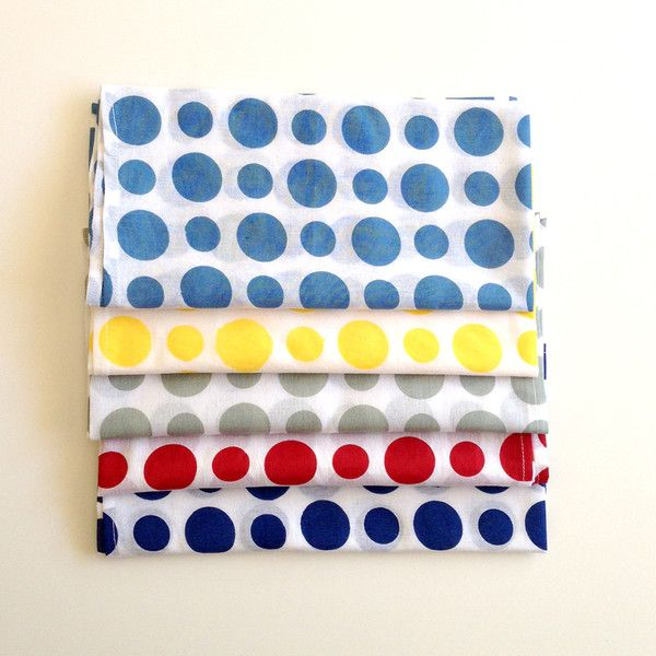 Bright and fun napkins  Pure Cotton 50cm x 50cm Available in packs of 4 for $25
