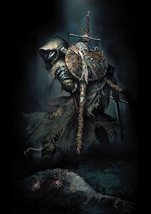 Ragged warrior undead Dark Souls revenant