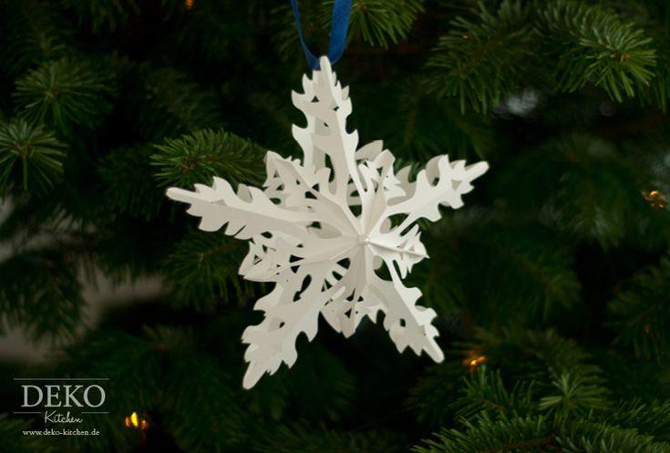 Diese filigranen Weihnachtssterne sind ein wunderschönes Highlight für jede Weihnachtsdeko- egal ob die Sterne ins Fernster gehängt, in Tischdekos integriert oder an der Wand montiert werden. Sehr hüb