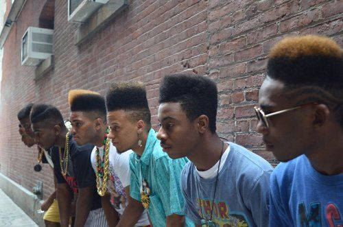 Every black man should rock a high top fade. That's just my opinion. THIS LOOK IS GONNA COME BACK SOON