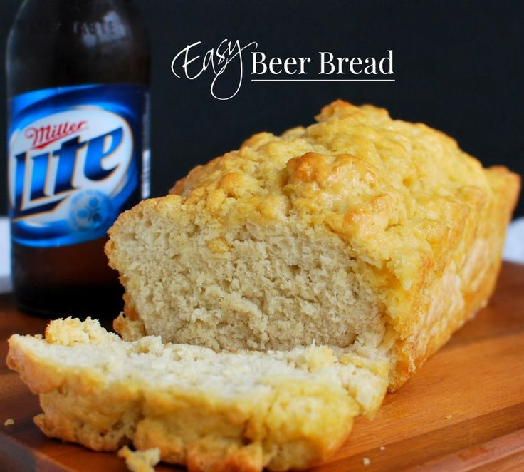 The best beer bread recipe I ever made . No rising, no kneading, just a one bowl method made in minutes and baked to perfection with a golden buttery top.