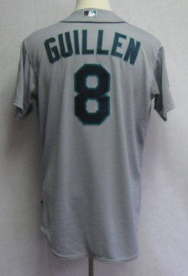 2012 Seattle Mariners Carlos Guillen #8 Game Issued Gray Away Jersey - Game Used MLB Jerseys by Sports Memorabilia. $156.84. 2012 Seattle Mariners Carlos Guillen #8 Game Issued Gray Away Jersey