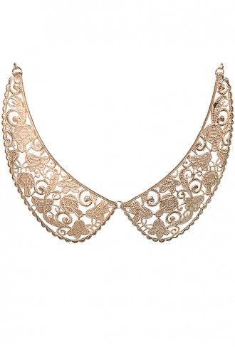 Peter Pan Golden Collar Necklace