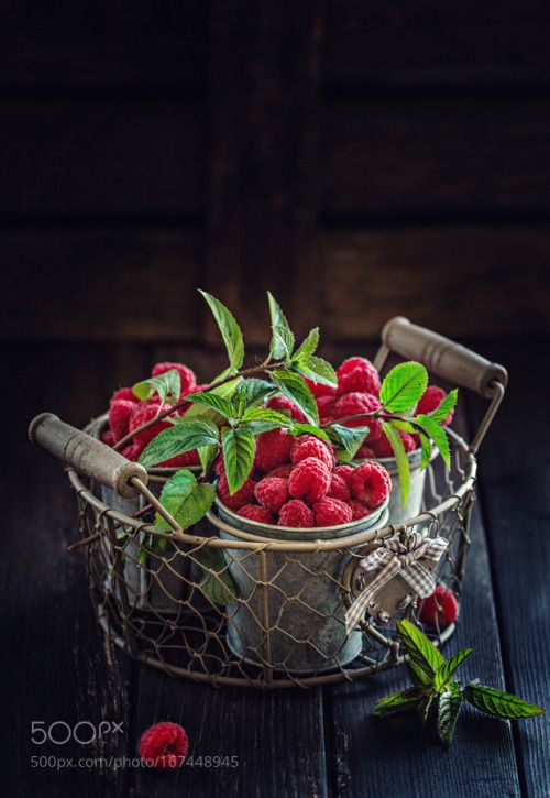 Raspberry and Mint by AngelikaSorkina  IFTTT 500px