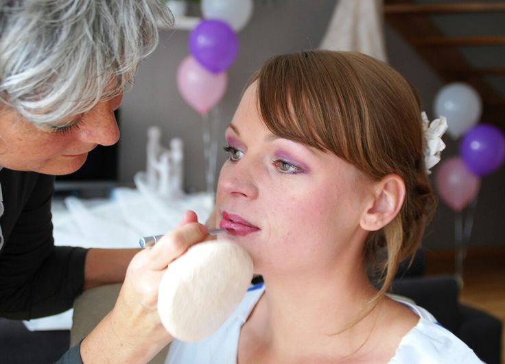 Preparing for the wedding day by Kitty's Make-up Studio