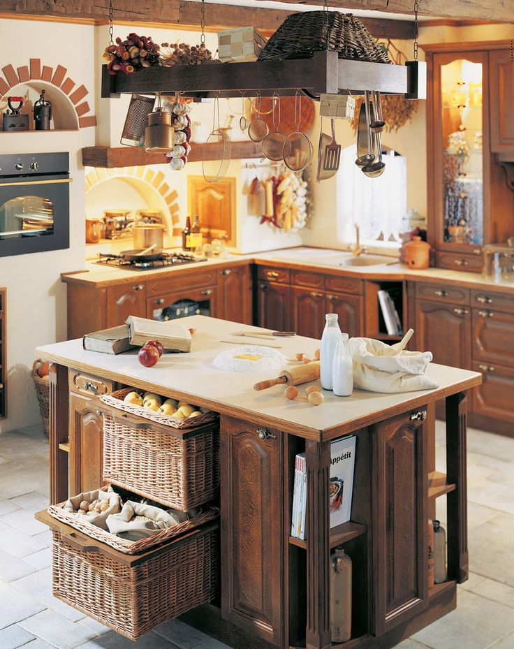 Kuchnia w stylu country - Przytulnie w kuchni - Weranda Country