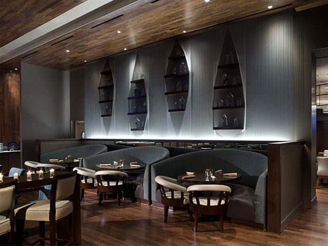 Restaurant and bar designs pictures elegant modern for Restaurant moderne