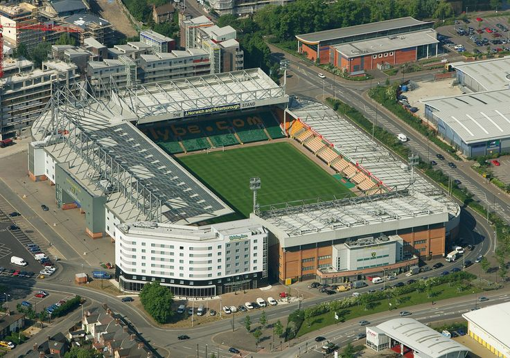 Carrow Road Norwich - First Visited 1997